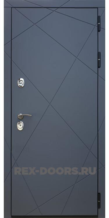 Входная металлическая дверь Rex 13 Силк Титан