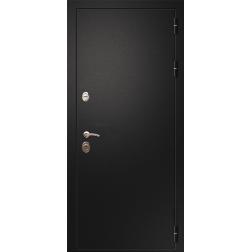 Входная дверь Rex 1A Чёрный муар