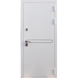 Входная дверь Rex 27 Белая шагрень