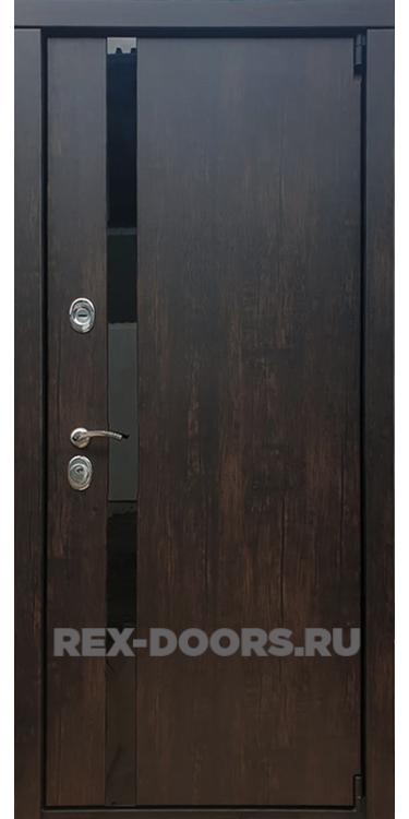 Входная металлическая дверь Rex 26 Тиковое дерево