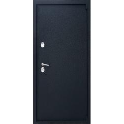 Входная дверь Rex 3 Чёрный крокодил