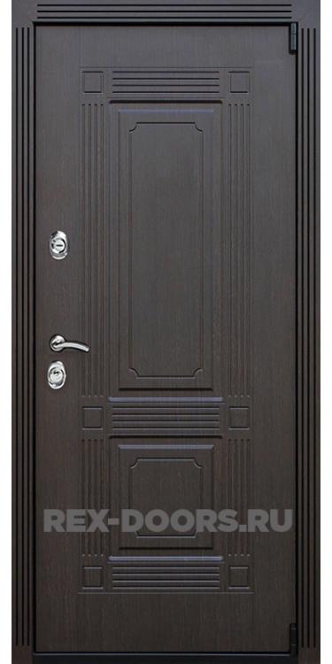 Входная металлическая дверь Rex 9 Венге