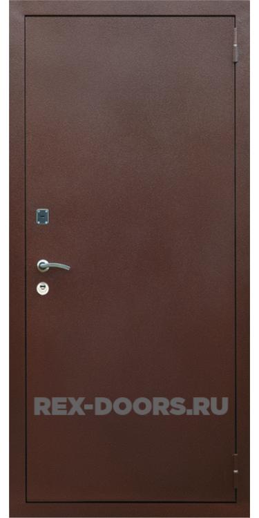 Входная металлическая дверь Rex 1A Медный антик