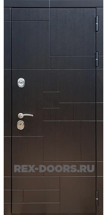 Входная металлическая дверь Rex 20 ФЛ-302 Венге