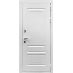 Входная дверь Rex 6 Лондон Силк Сноу (Белый матовый)