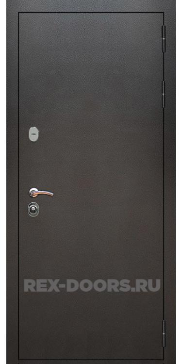 Входная металлическая дверь Rex 5A Серебро антик