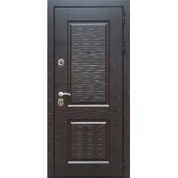Входная дверь Rex Лайн 2 Венге поперечный