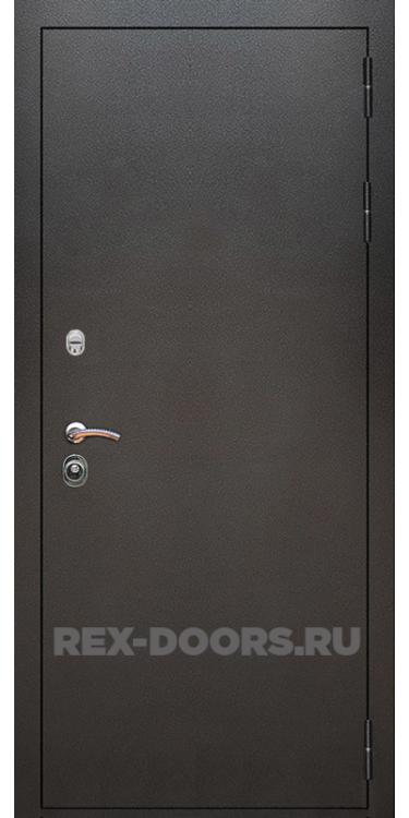 Входная металлическая дверь Rex 11 Серебро антик
