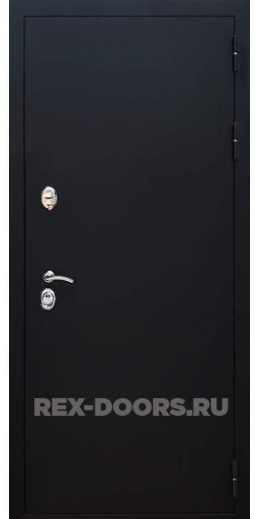 Входная металлическая дверь Rex 5A Чёрный муар