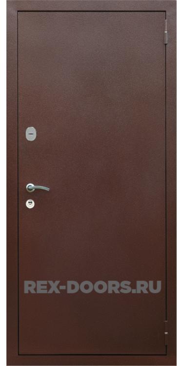 Входная металлическая дверь Rex 2A Медный антик