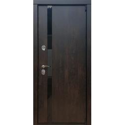Входная дверь Rex 26 Тиковое дерево