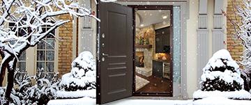 Двери в частный дом