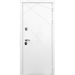 Входная дверь Rex 13 Силк Сноу (Белый)