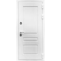 Входная дверь Rex Премиум Н Силк Сноу (Белый матовый)