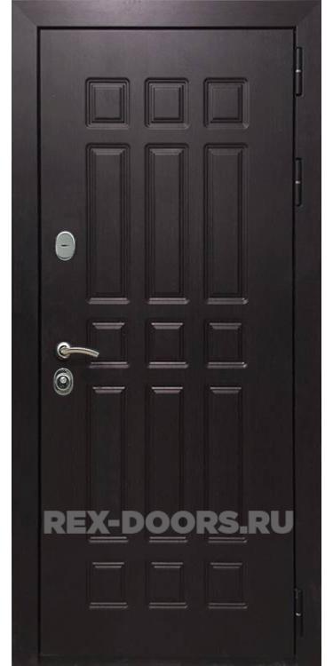 Входная металлическая дверь Rex 8 Сенатор Венге