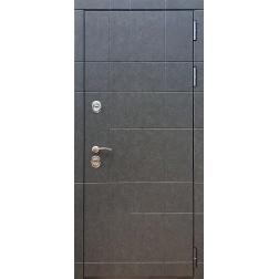 Входная дверь Rex 21 ФЛ-299 Штукатурка графит