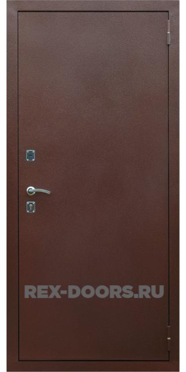 Входная металлическая дверь Rex Эконом Медный антик