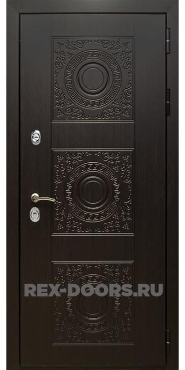 Входная металлическая дверь Rex 10 Венге