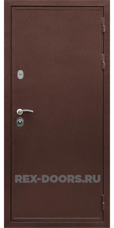 Входная металлическая дверь Rex 5A металл 3,0 мм (Медный антик)