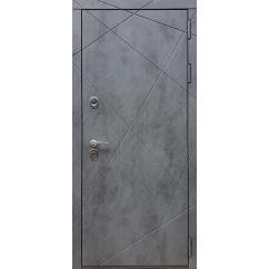 Входная дверь Rex 13 ФЛ-291 Бетон темный
