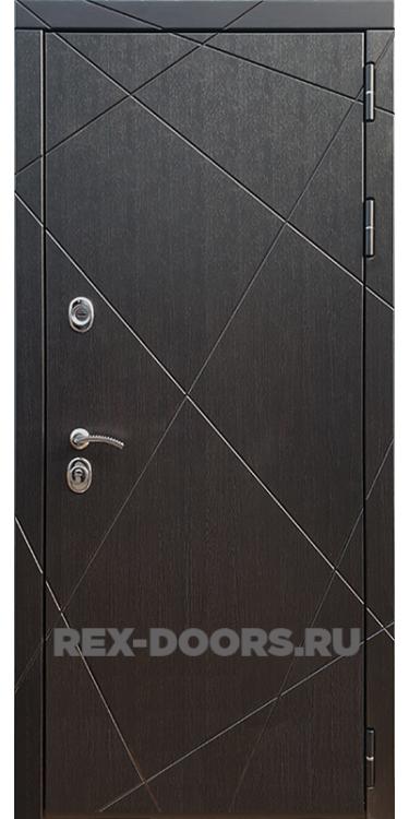 Входная металлическая дверь Rex 13 Венге